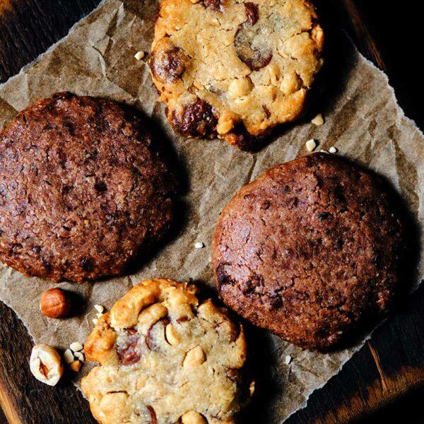 Chocolate cookie by Nina Métayer