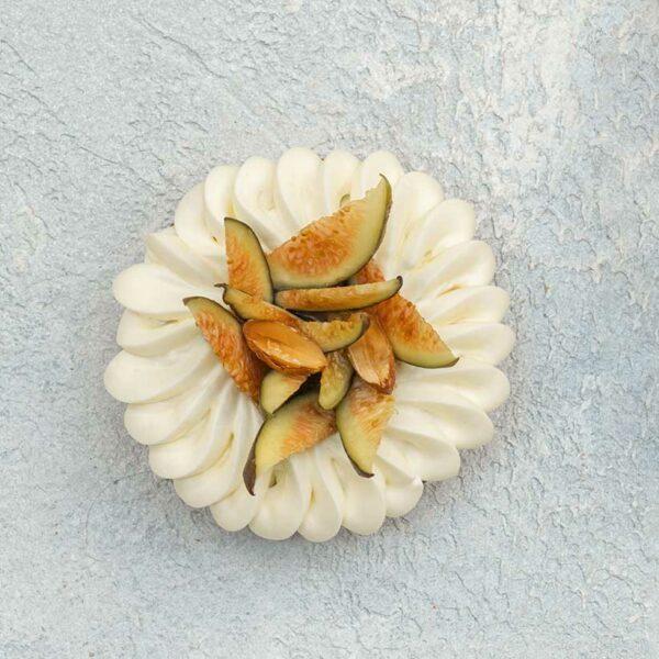 Tarte aux figues rôties au verjus par Nina Métayer